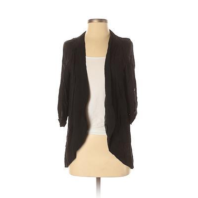 Lush Cardigan Sweater: Black Sol...