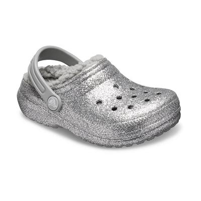 Crocs Silver / Silver Kids' Clas...