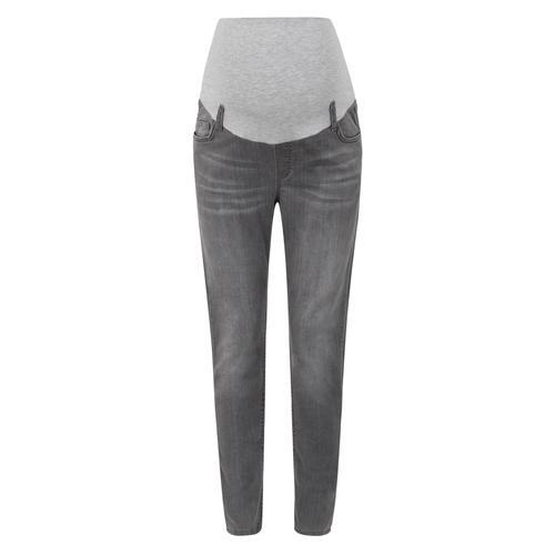 Bellybutton Jeans Skinny mit Überbauchbund grau Damen Umstandshosen Umstandsmode Umstandsunterteile
