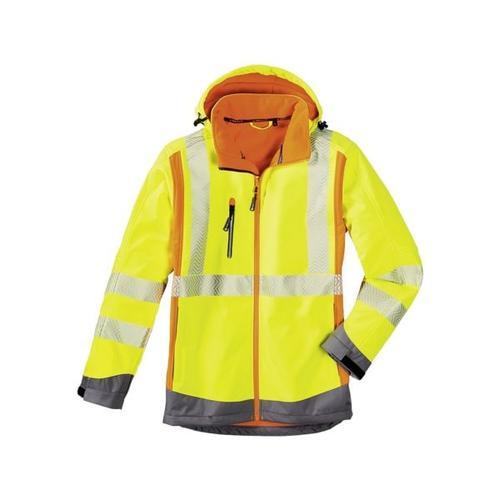 Warnschutz-Softshelljacke »Houston« Größe XL gelb, 4Protect
