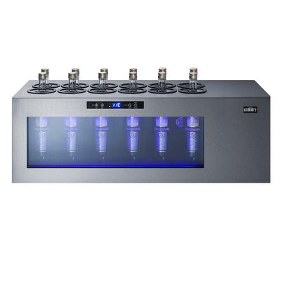 """Summit STC12 36"""" One Section Countertop Wine Cooler w/ (1) Zone - 12 Bottle Capacity, 115v"""