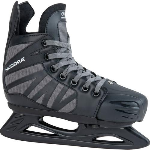 HUDORA® Hockey-Schlittschuh Power Play, schwarz, Gr. 32/35