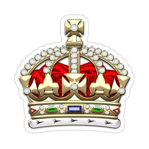 Britische Kaiserkrone - Tudor Crown Sticker