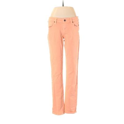 Paige Jeans - Low Rise: Pink Bot...