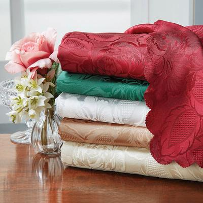 Damask Table Cloths Coffee 127 X...