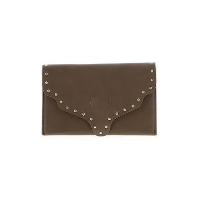 Shiraleah Clutch: Green Solid Bags