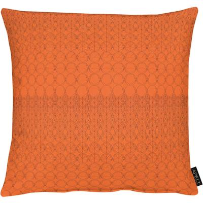 APELT Kissenhülle 1308 orange Kissenbezüge gemustert Kissen