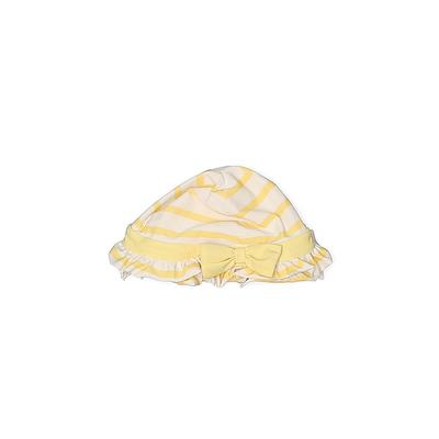 Baby Gap Hat: Yellow Stripes Accessories - Size 12-18 Month