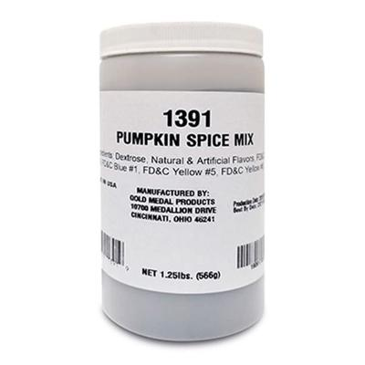 Gold Medal 1391 1 1/4 lb Pumpkin Spice Sweet Selections? Dry Mix