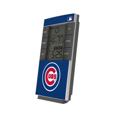 Chicago Cubs Solid Digital Desk Clock