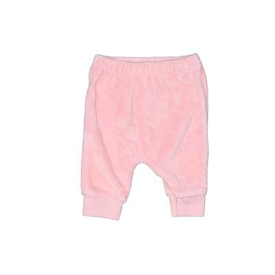Carter's Sweatpants - Adjustable: Pink Sporting & Activewear - Size Newborn