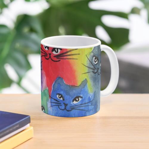 Katzen viele Katzen Tasse