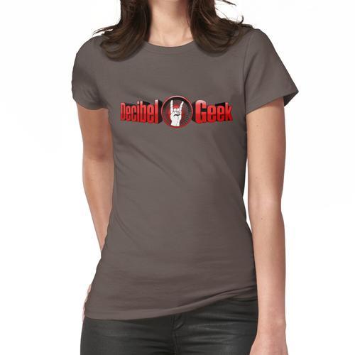 Dezibel Geek 3D Logo Frauen T-Shirt