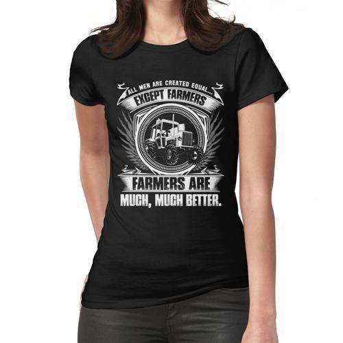 dummer Bauer Vogel Bauer Mutter Ferkel Bauer Bauer Welle Bauer Kinder fa Frauen T-Shirt