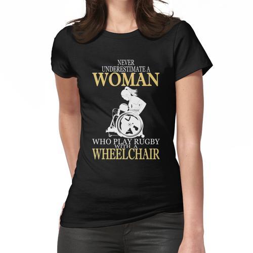 ROLLSTUHL FRAU LIEBE RUGBY Frauen T-Shirt