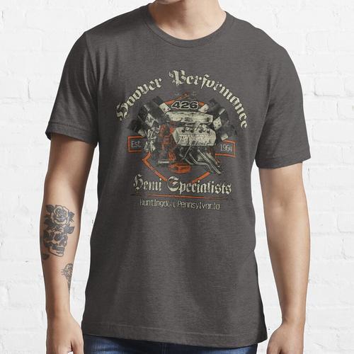 Staubsauger-Leistung - Weinlese Essential T-Shirt