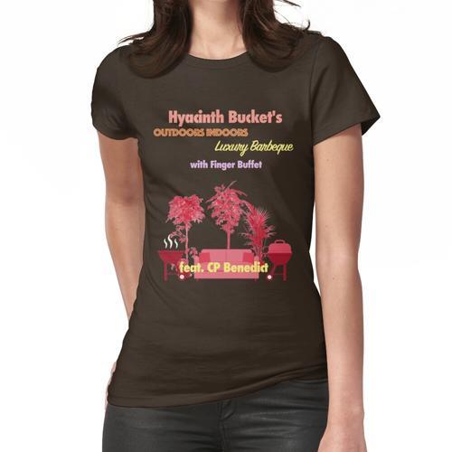 Draußen drinnen Luxus-Grill-Flyer Frauen T-Shirt