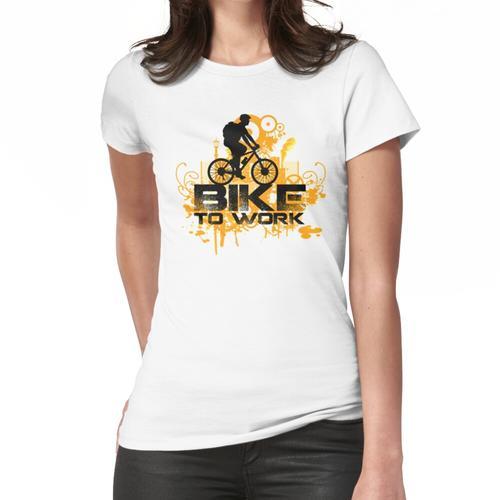 Fahrrad zum Arbeitstag Frauen T-Shirt