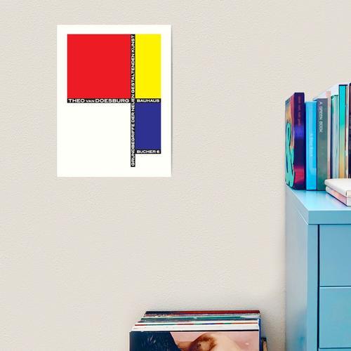 Bauhaus # 3 Kunstdruck