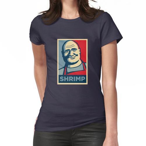 Schrimps-Plakat Frauen T-Shirt