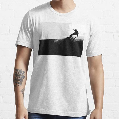 Snowboard Downhill Essential T-Shirt