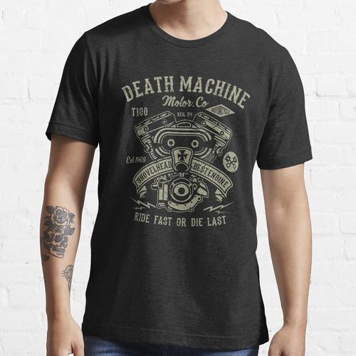 Motorrad | Shovelhead Shirt | Motorrad-Motorhemd Essential T-Shirt