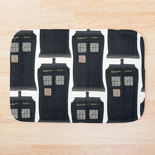 TARDIS Badematte