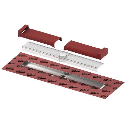 TECEdrainline-Evo Duschrinne, 1000 mm befestigte Seal System Dichtmanschette, 601002 601002