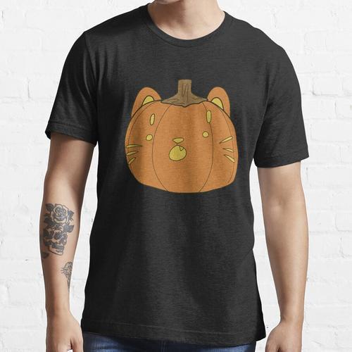 Katze o Laterne Essential T-Shirt