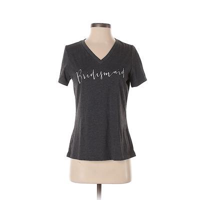 Bella Short Sleeve T-Shirt: Gray...