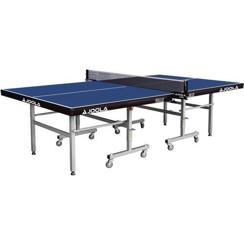 Joola Tischtennisplatte JOOLA Indoor-Tischtennisplatte World Cup blau Tischtennis-Ausrüstung Tischtennis Sportarten