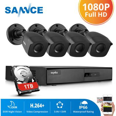 1080N CCTV Security Camera Syste...