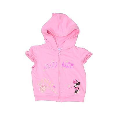 Disney Baby Zip Up Hoodie: Pink ...