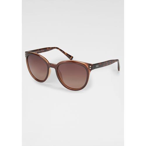 HIS Eyewear Sonnenbrille, Panto-Form braun Damen Ovale Sonnenbrille Sonnenbrillen Accessoires