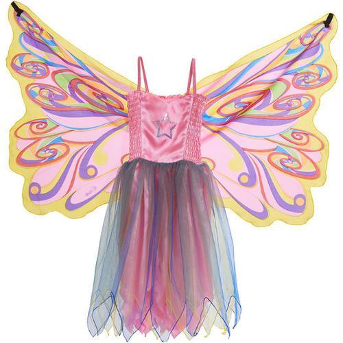 Kostüm Schmetterlingskleid, bunt