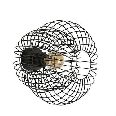 KOKESHI-Applique Métal filaire Ø36cm Noir Market Set