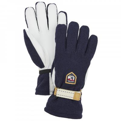 Hestra - Windstopper Tour 5 Finger - Handschuhe Gr 11 schwarz/grau/weiß