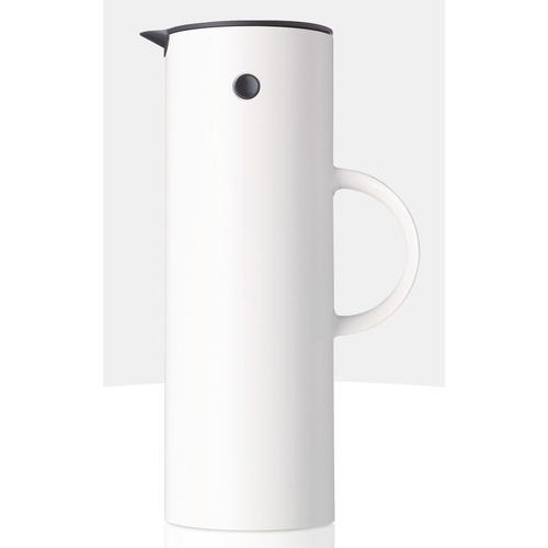 Stelton Isolierkanne EM77, 1 l, glänzend weiß Kannen Geschirr, Porzellan Tischaccessoires Haushaltswaren