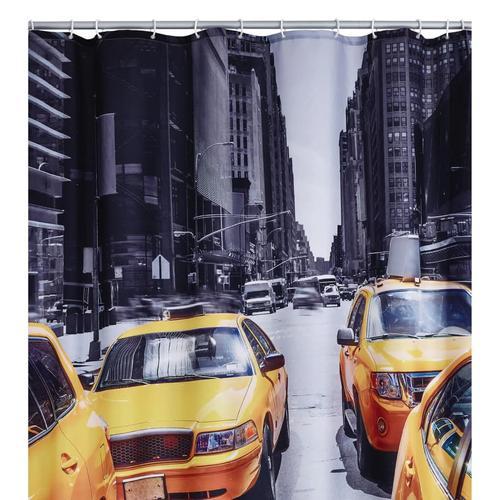 RIDDER Duschvorhang New York 180 x 200 cm