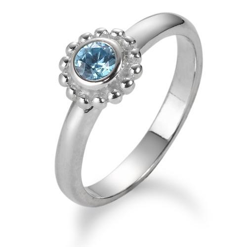 Fingerring Silber Kristall