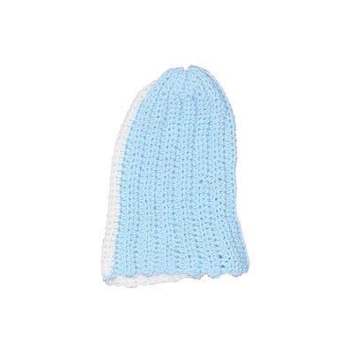 Beanie Hat: Blue Floral Accessories