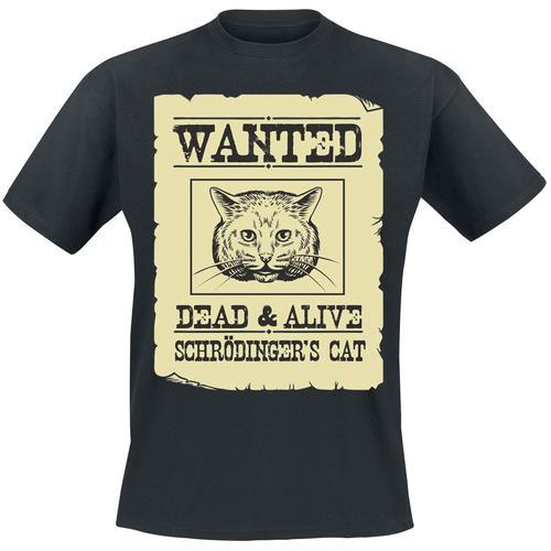 Schrödinger's Cat Herren-T-Shirt - schwarz