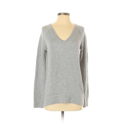Gap Pullover Sweater: Silver Print Tops - Size X-Small