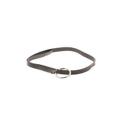 Belt: Brown Solid Accessories - Size Small