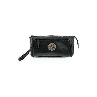 Axcess Wristlet: Black Solid Bags