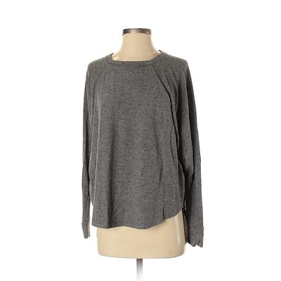 Free Press Pullover Sweater: Gra...