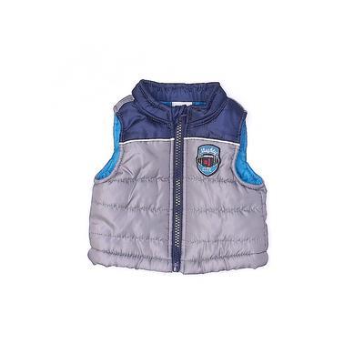 Healthtex Vest: Gray Jackets & Outerwear - Size Newborn