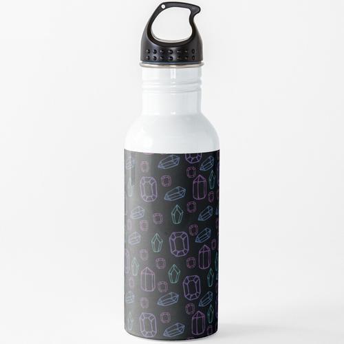 Edelsteine Wasserflasche