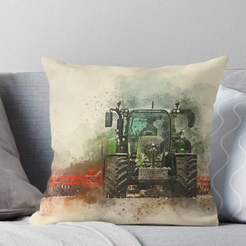 Fendt Traktor Pfropfen Kissen