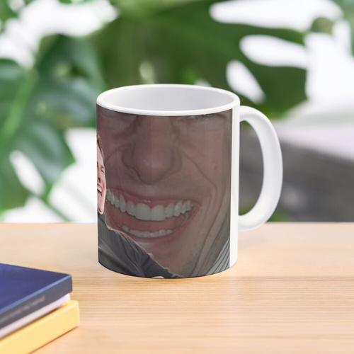 Tom Cruise laughing scientology Mug